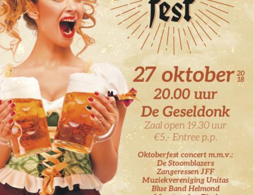 27 oktober 'OKTOBERFEST'