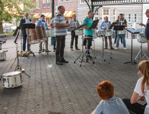 De opanbare repetitie in Brandevoort op 17 september was geslaagd!