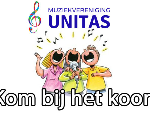 Unitas start koor in Brandevoort!